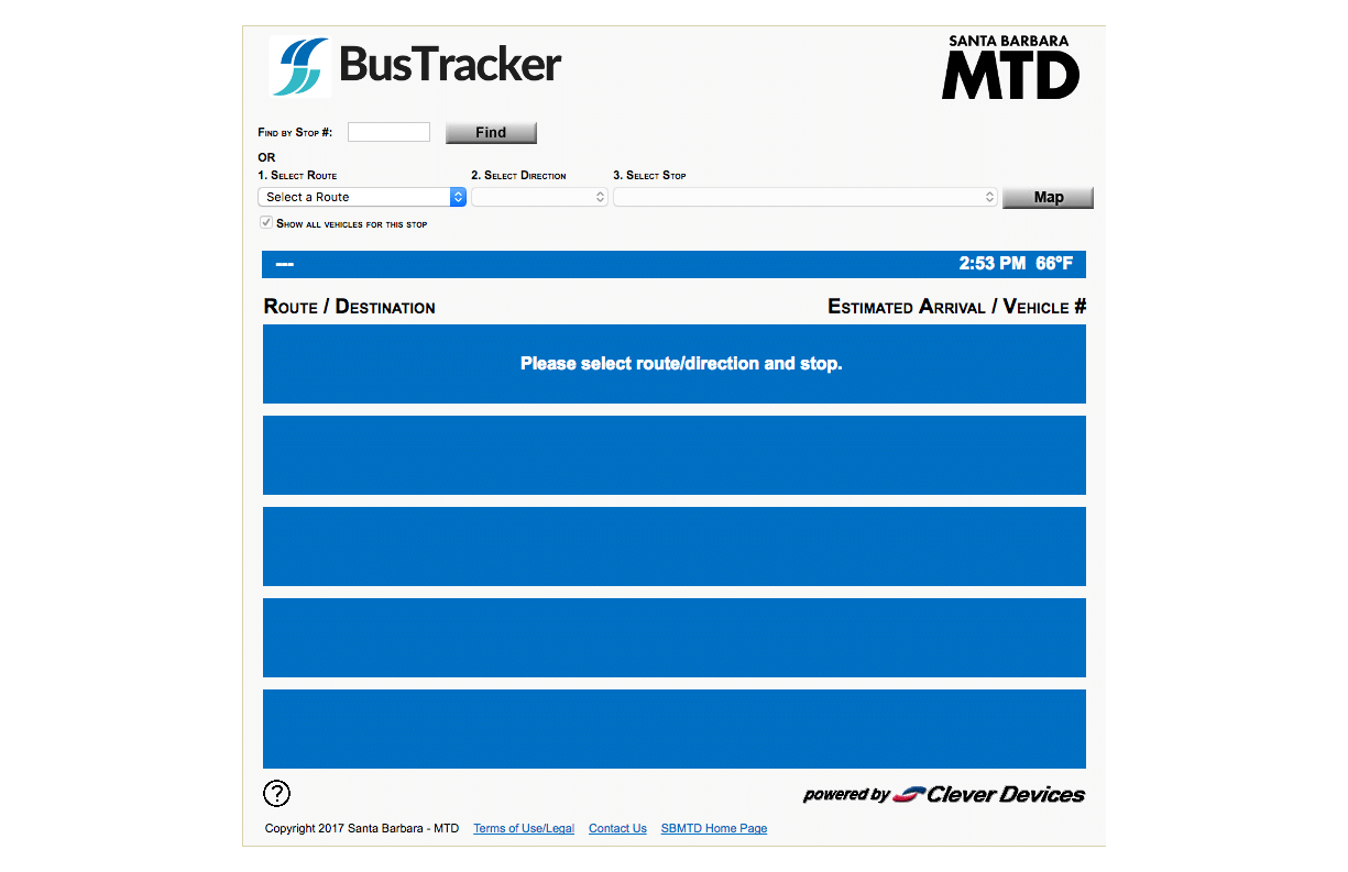 Maps & Schedules – Santa Barbara MTD Santa Barbara Mtd on