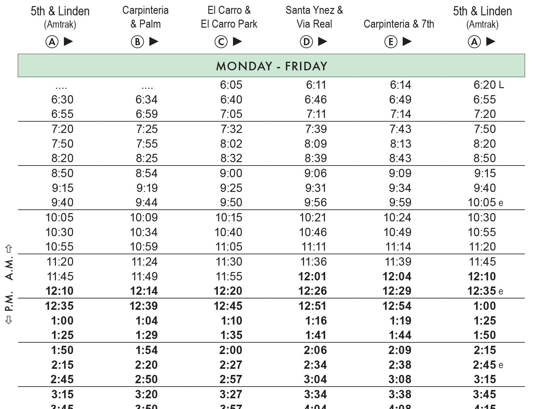 DOWNLOAD PAGES FROM SCHEDULE GUIDE