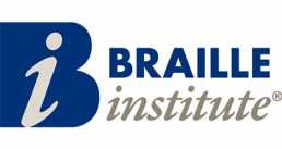 Santa barbara MTD Braille Institute Logo Image