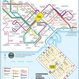 Santa Barbara MTD System Map - Santa Barbara Image