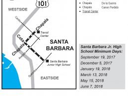 Santa Barbara MTD Booster Services Santa Barbara Junior High School Bus Book Pages Thumbnail Image