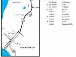Santa Barbara MTD Booster Services San Marcos High School Bus Book Pages Thumbnail Image