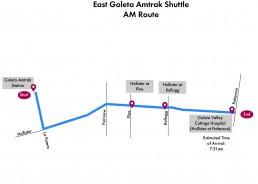 East Goleta Shuttle- AM Route